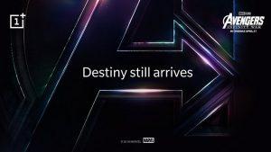 OnePlus confirma su asociación con Marvel para el OnePlus 6 con temática de Avengers: Infinity War