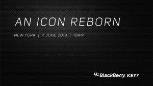 BlackBerry KEY2 se lanzará el 7 de junio, aquí están las especificaciones esperadas