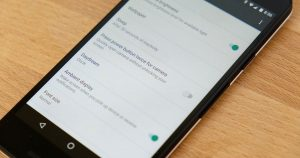 Cómo deshabilitar el acceso directo de la cámara en Nexus 5X, 6P