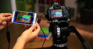 Controle una cámara dSLR con su teléfono o tableta Android