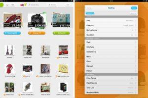 eBay lanza una aplicación para iPad para usuarios indios