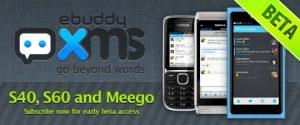 eBuddy XMS Messenger para graduados de MeeGo y WP7 fuera de Beta