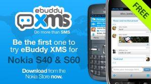 eBuddy XMS ahora disponible en la Tienda Nokia