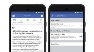Facebook ahora permite a los usuarios de Android desactivar el seguimiento de la ubicación en segundo plano