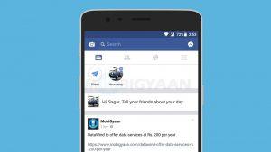 Facebook copia Snapchat nuevamente, trae Stories a su aplicación principal junto con algunos efectos de cámara