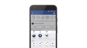 Facebook prueba la barra de navegación inferior con un cajón de navegación deslizable hacia arriba en su aplicación de Android
