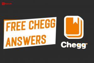 Free Chegg Answers 2021: Unblur Chegg Study (ÚLTIMO)