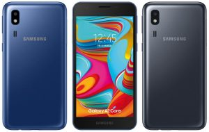 Las especificaciones detalladas del teléfono inteligente Samsung Galaxy A2 Core Android Go se filtraron en línea