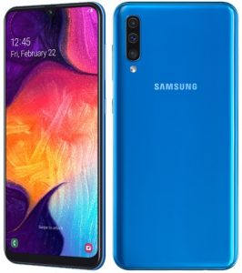 Samsung Galaxy A50 anunciado con pantalla Infinity-U y cámaras traseras triples