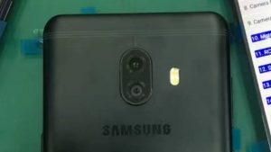 Las imágenes filtradas del Galaxy C10 muestran una vez más una configuración de cámara dual