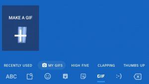 Gboard beta para Android ahora te permite crear tus propios GIF