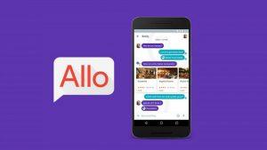 La aplicación de mensajería inteligente de Google, Allo, alcanza más de 5 millones de descargas en Android