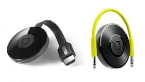 Google Chromecast 2 y Chromecast Audio se lanzaron en India por Rs.  3399