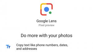 Google Lens se implementará en los teléfonos inteligentes Pixel 2016 a través de la aplicación Google Photos