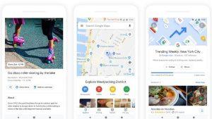 Google Maps para obtener la pestaña Explorar rediseñada con planificación grupal y más