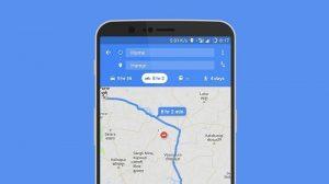 Google Maps obtiene el modo motocicleta en India para quienes navegan en vehículos de dos ruedas