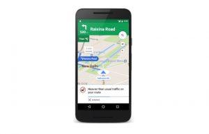 Google trae alertas de tráfico en Google Maps en India