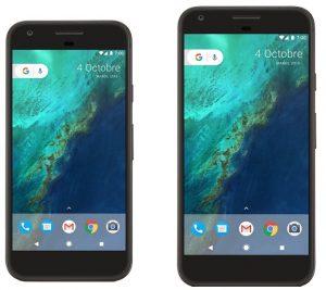 Google Pixel y Pixel XL para actualizarse a Android Q