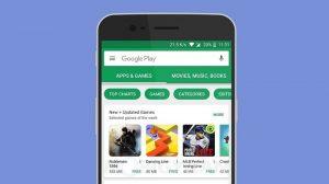 Google Play Store ahora muestra el tamaño de la aplicación en la pantalla de inicio para los usuarios indios