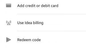 Google se asocia con Idea para proporcionar facturación al operador en Play Store en India