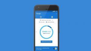 Esta aplicación experimental de Google le permite administrar y bloquear el uso de datos móviles por aplicación.