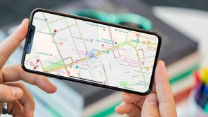 Cómo guardar Google Maps sin conexión en iPhone