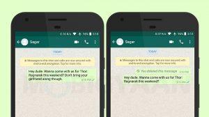 Según los informes, WhatsApp realiza un cambio en la función 'Eliminar para todos'