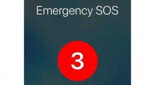 Cómo usar el modo SOS en iPhone