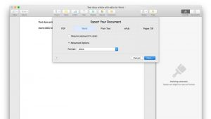 Cómo abrir un archivo .docx Word en Mac, iPad o iPhone