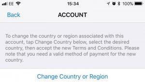 Cómo cambiar la App Store a Reino Unido en iPhone y iPad