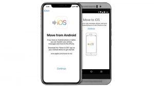 Cómo pasar de Android a iPhone