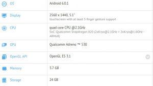 Especificaciones de HTC 10 reveladas en la lista de GFXBench