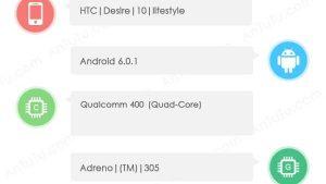 HTC Desire 10 Lifestyle aparece en AnTuTu con Snapdragon 400 SoC y 2 GB de RAM