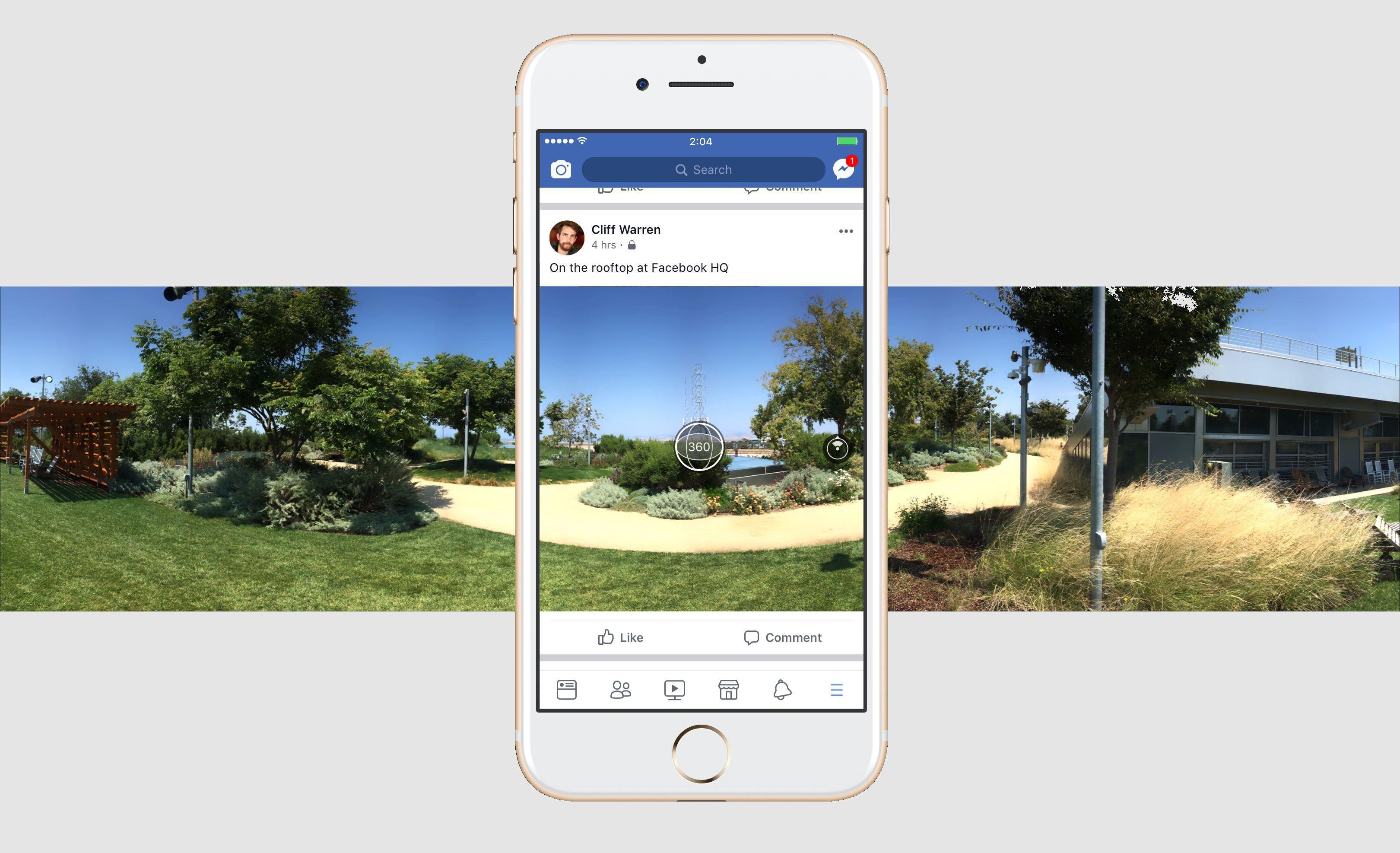 aplicación-de-facebook-360-captura