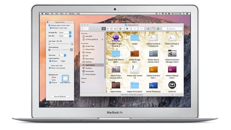 Personalizar Macbook air