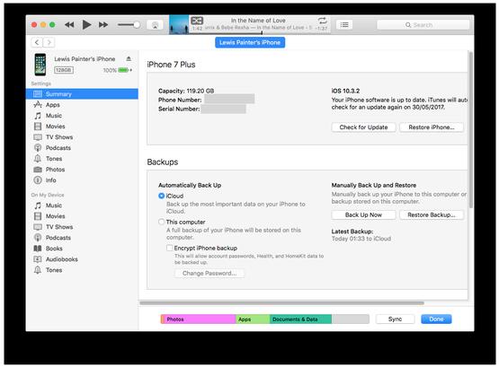 Cómo recuperar textos eliminados de una copia de seguridad de iTunes / Finder
