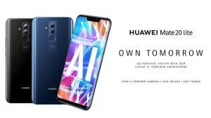 Huawei Mate 20 Lite anunciado con Kirin 710 SoC y cámaras cuádruples con tecnología de inteligencia artificial