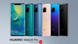 Huawei Mate 20 Pro con cámaras traseras triples y escáner de huellas dactilares en pantalla que se lanzará en India el próximo mes