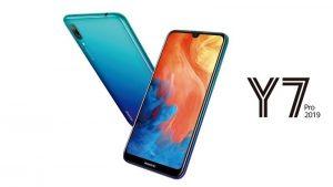 Huawei Y7 Pro 2019 anunciado con pantalla de 6.26 pulgadas, cámaras traseras duales y batería de 4000 mAh
