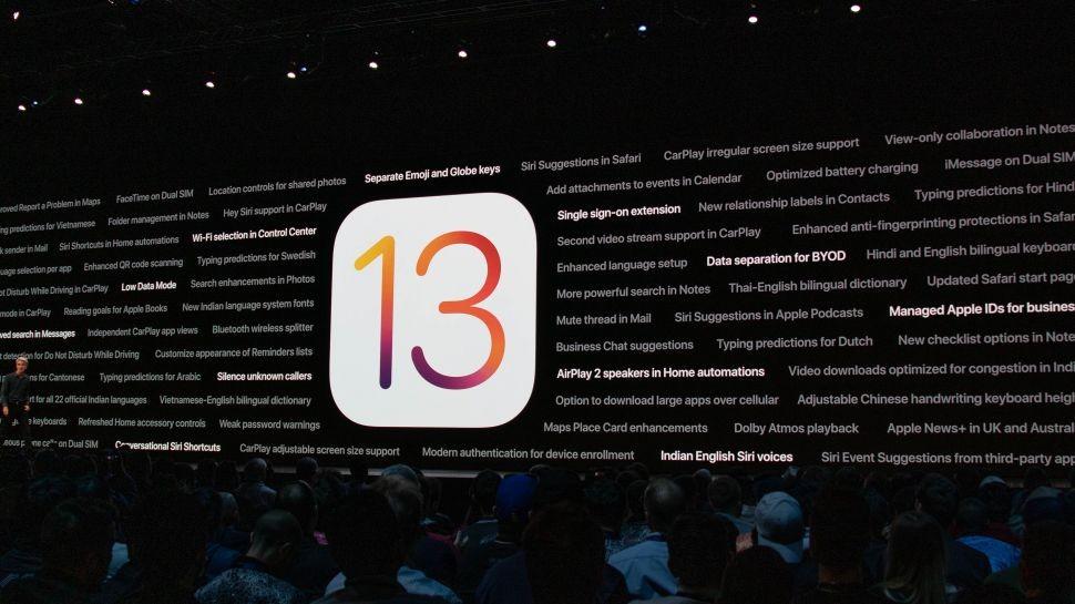 iOS-13 con funciones
