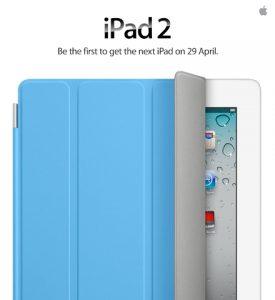 iPad 2 llegará a India el viernes 29 de abril