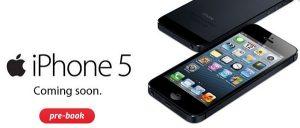 iPhone 5 ahora disponible para pedidos anticipados en Airtel Shop a Rs.45,550 por 16 GB