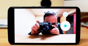 Utilice su teléfono inteligente como visor, disparador para la cámara Re