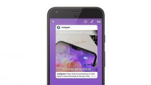 Ahora puede compartir publicaciones de feed de Instagram directamente en sus Historias como pegatinas