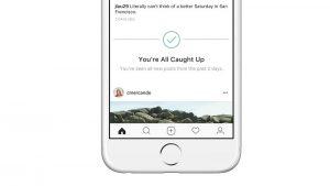 Los usuarios de Instagram ahora sabrán cuándo han visto todas las publicaciones de los últimos dos días.