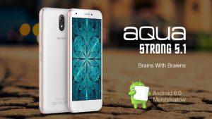 Intex Aqua Strong 5.1 con Android 6.0 Marshmallow y soporte 4G LTE listado en línea por ₹ 5599