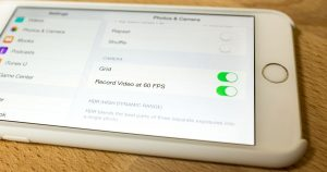 Cómo habilitar la grabación de video a 60 fps en iPhone 6 y 6 Plus
