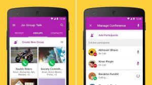 Jio lanza la aplicación de llamadas grupales Jio Group Talk