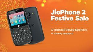 JioPhone 2 sale a la venta en India por tiempo limitado