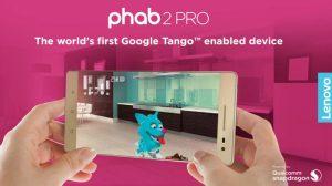 Lenovo Phab 2 Pro habilitado para Google Tango se lanzó en India por ₹ 29,990